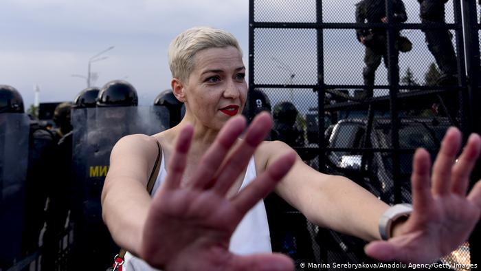 Maxim Shalygin eert Wit-Russische dissident Maria Kalesnikava in 'While Combing YourHair'
